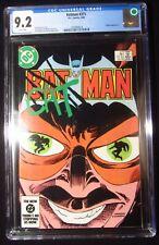 Batman #371 (1984 DC) CGC 9.2...Catman cover/story