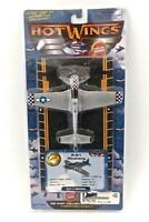 Hot Wings 2012 P51 Mustang WWII Fighter Die Cast Aircraft New On Card