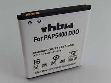 Batteria 1700mAh 3.7V Li-Ion per Prestigio MultiPhone 5400 Duo, PAP5400