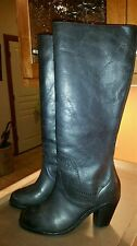 Ariat Black leather boots 2.5 inch heel Size 9 but fits as 8.5