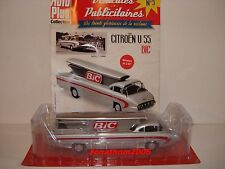 Vehicles advertising citroen u55 bic pen fusee 1955 to 1/43 °