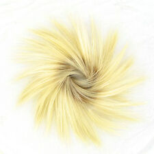 Hair Extension Scrunchie clear golden blond ref: 21 ys peruk