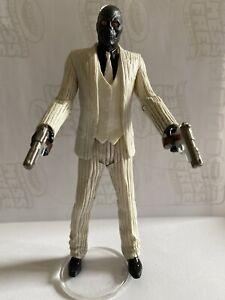 Arkham Origins Series One Black Mask Figure With Dual Pistols