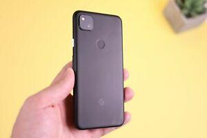 Google Pixel 4a GA02099-US - 128GB - Just Black (Unlocked) (Single SIM)