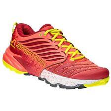 Zapatillas de deporte running rojos con cordones