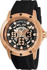 Invicta  Objet D Art Automatic Black Skeleton Dial Men's Watch 22631