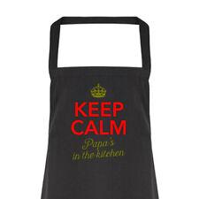 Papa Gift Apron Funny Personalised Keepsake Cooking Present Cotton Papa