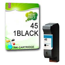 1 Cartouche d'encre Non-OEM Noir pour copieur 100 110 HP 45 140 145 160 180 210 290
