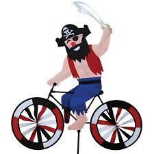 Pirate on a Bicycle Staked Wind Spinner PR 25999