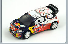 CITROEN DS3 WRC #2 WINNER JORDAN RALLY 2011 SPARK S3309 1:43 PLASTIFICATED