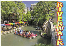 "*Postcard-""The River Walk""...network of walkways along the banks-TEXAS (#516))"