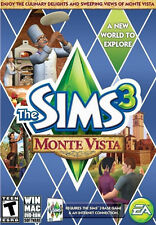 The Sims 3: Monte Vista PC/Mac Game,w/Activation Key,Complete/Original LN