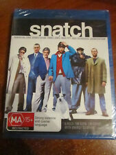 Dvd Blu-Ray Snatch Brand New Sealed * Must See *
