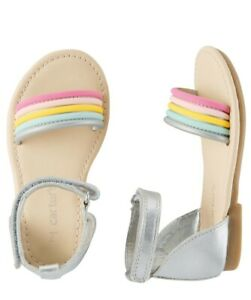 Carter's Metallic Ankle Sandals Size 7