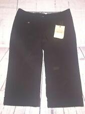 Makers Of True Originals Black Capris Pants Size 6