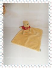 P - Doudou Peluche Winnie Mouchoir T-shirt Rouge  Disney Nicotoy