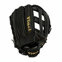 Vinci Pro Limited Series RV1961-L Black Dual Web Baseball Glove 12.75 Inch