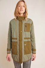 Anthropologie quilted Ribstop Army Jacket Size Small