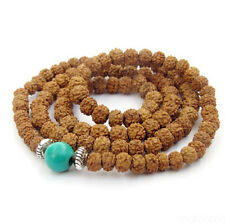 8mm Rudraksha Bodhi Seed Tibet Buddhist 108 Prayer Beads Mala necklace bracelet