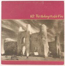 The Unforgettable Fire  U2 Vinyl Record