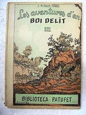Biblioteca Patufet,Les Aventures d´en Boi Dalit 3ª part,Junceda,1928