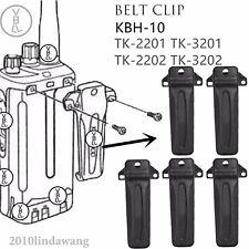 5x Belt Clip KBH-10 for Kenwood TK2201 TK3201 TK2202 TK3202 Portable Radio