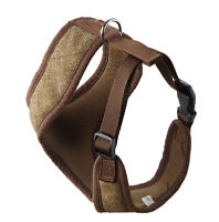 Brown Tweed Puppy Dog Harness - Small, Med, Large