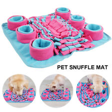 Pet Dog Snuffle Mat Nose Training Game Sniffing Pad Feeding Puzzle Cushion Toy