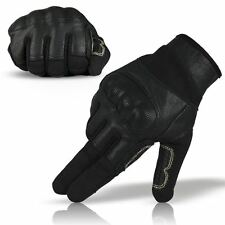 RT Hard Knuckle Fast Rope Nomex 3A Military Climbing Gloves Black - Large