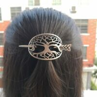 tree of life Hairpins Viking Hair Clips Stick Hair Clip Barrette Women Girls