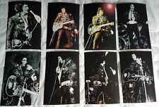 Elvis Presley 8 Photo Set 11/11/71 @ Cincinnati Gardens-Black Jumpsuit & Free CD
