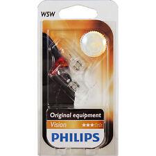 Philips Set Lampen 2 Stück W5W 12V 5W W21x95d Vision Blister 1325664