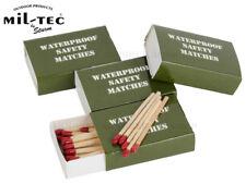 German Made MATCHES Waterproof & Windproof Emergency Survival Lighter 4 PACK
