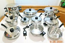 SALADMASTER 18-8 Tri Clad Waterless Cookware Stainless Steel Electric Skillet