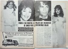 PAMELA SUE MARTIN (Dynasty) => 2  pages 1982 SPANISH CLIPPING !!!
