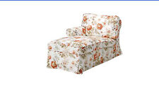 IKEA SLIPCOVER EKTORP Chaise Left Arm Byvik Print  901.078.84 discontinued HTF
