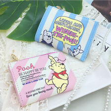 Disney Winnie the Pooh Small Wallet Purse Business Credit Id Card Coin Money