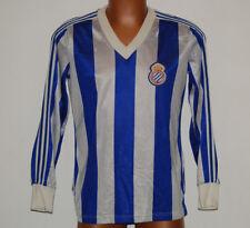 camiseta Espanyol Real Club deportivo vintage Adidas no ventex anni 80s RARE XL