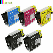 5PK New LC65 XL Ink for Brother MFC-5890CN MFC-5895CW MFC-6490CW MFC-6890CDW