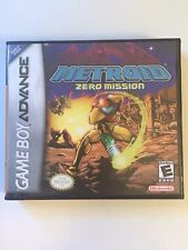 Metroid Zero Mission - GBA - Replacement Case - No Game