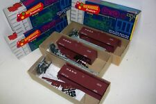 """HO ROUNDHOUSE 3285 LOTE / Lote 3 vagones 36´O/T BOXCAR  KIT """"D & R G"""""""