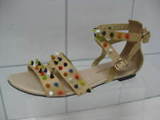 Ladies RIVER ISLAND spiked GLADIATOR sandals shoes size UK 5 studs punk spiky