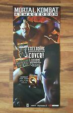 Mortal Kombat Armageddon 2007 Video Game Store Display Sign PlayStation XBox