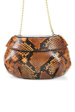 Dlyp женская кожаная топы с мини-сумочка через плечо золотой шоколадно-коричневый