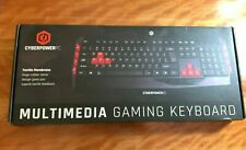 Cyberpower PC Desktop Multimedia Gaming Wired USB Keyboard