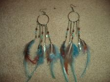 Dreamcatcher Earrings - Hypo-allergenic, never worn