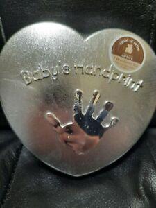 Baby Handprint Kit Carters Child Of Mine Heart Shaped Plaster Brand New Sealed