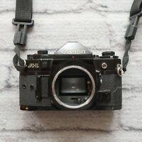 Canon A-1 35mm SLR Film Camera Black Body Only Vintage