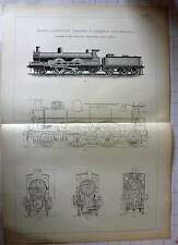 1893 London North West Railway Webbs Passenger Locomotive