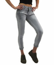**SALE** Modern Ladies High Waisted Stretchy Skinny Jeans Stoned Platted Pants